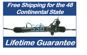 Power Steering Rack And Pinion For Nissan 350z Infiniti G35 2wd