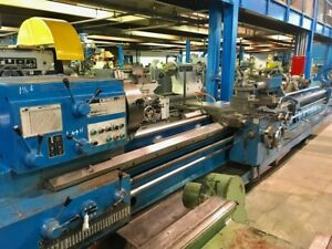 25 Swg 320 Cc Tos Sus 63 Engine Lathe Inch metric Taper 3 Steady Rests 4 J