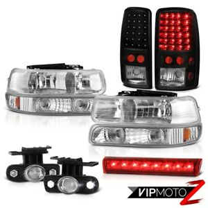 00 06 Chevy Suburban Ls Roof Cab Lamp Euro Clear Fog Lights Taillamps Headlights