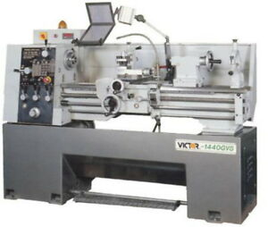14 Swg 40 Cc Victor 1440gvs W special Package Engine Lathe D1 4 Camlock W 1