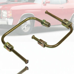 Horizontal Proportioning Valve Brake Lines Kit 9 16 To 3 8 And 1 2 To 3 8