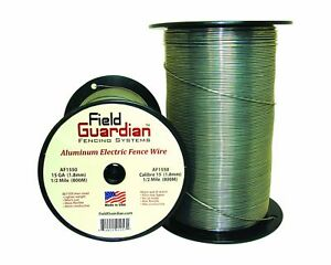 Field Guardian 15 guage Aluminum Wire 1 2 Miles