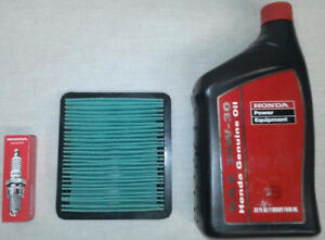 Honda Eu3000 Eu3000is 3000 Watts Generator Tune up Kit W Air Filter Spark Plug