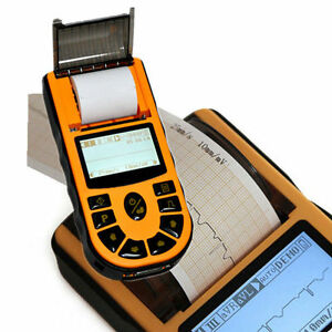 Handheld Ecg Ekg Machine With 6 Language Available Electrocardiograph New Ce Fda