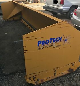 Pro Tech 16 Snow Pusher Push Box Plow