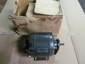 Nos Sears Craftsman 1 3 Hp Blower Motor 115 Volt Made In Usa Back In 1970 s
