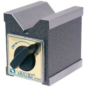 Pro series Magnetic V block W Switch Power Pull 77 Lbs new Ds