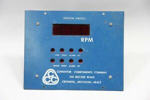Conveyor Components Motion Control Switch 4 Digit Display Used