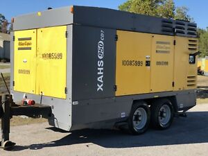 Used 2011 Atlas Copco Xahs950cd7 Portable Compressors