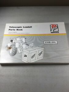 Jcb Model 530b 4hl Loadall Parts Book Manual