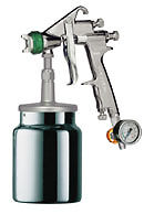 Primer Spray Gun Hvlp 1 7mm For Use In Body Shops Industry And Woodwork New