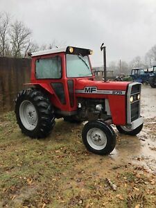 Massey Ferguson 275 cab And Heat Remote Hydraulics