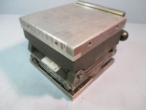 Suburban 6x6 Magnetic Sine Plate Multi Axis For Grinding Milling