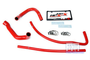 Hps Silicone Radiator Heater Hose For Jeep 93 98 Grand Cherokee 4 0l I6 Lhd Red