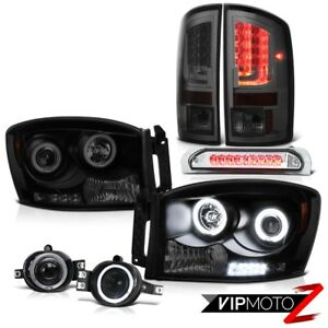 07 08 Ram 1500 2500 3500 Ws Tail Lights Headlamps Fog Roof Brake Light Newest