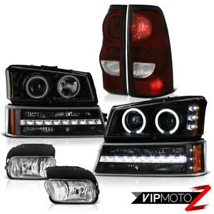 03 06 Chevy Silverado 2500hd Foglights Tail Lights Parking Lamp Headlights Led