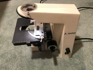 Zeiss Axiostar Microscope Base Frame With Stage