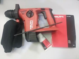 Hilti Te 4 a22 Sds Plus Cordless Rotary Hammer Drill Tool Body Only