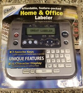 Brother Pt 1280 P touch Home Office Labeler Label Maker Printer Tz Tape