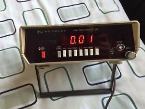 Used Good Keithley 480 Picoammeter xy 933 Ship By Express