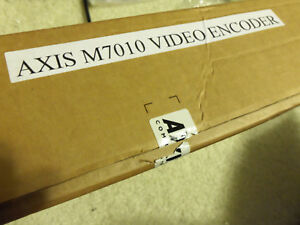 Axis M7010 16 Channel Cctv Video Analog To Ip Security Server Camera Encoder