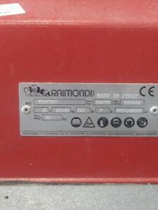 Raimondi Mastino Vibrating Tile Leveling Machine In Very Good Condition