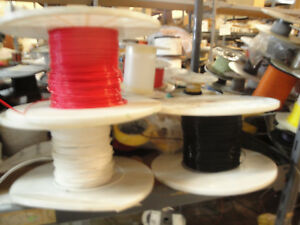 60 Ft 16 Awg Solid Core Teflon Wire 600v 200 Degree C 3 X 20ft Each