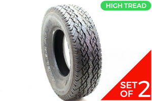 Set Of 2 New 265 75r16 Bridgestone Dueler Rvt 114s 13 5 32