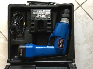 Matco Tools Mte21 Cordless 3 8 Drill Driver 7 2 Vdc Battery Works