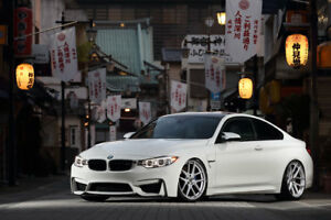 20 Tsw Geneva Rotary Forged Staggered Silver Wheels Bmw F80 M3 F82 M4 Concave