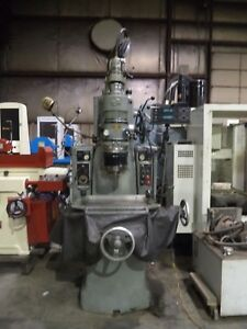 Moore Model 2 10 X 16 Jig Grinder W Sony Dro And 40 000 Rpm Grinding Head