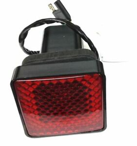 2 Trailer Towing Hitch Receiver Cover With Brake Light New