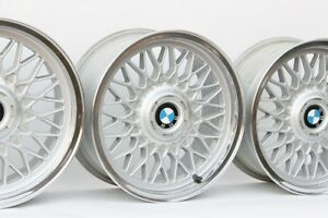 Bmw 16 Bbs 5 Custom Polished 4x100 Genuine Factory Oem Wheels E30 E21 E10 2002