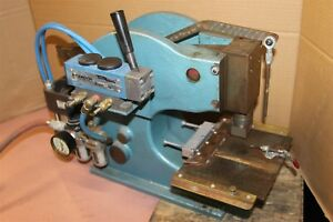 Numberall Stamp Tool 131a Pneumatic Numbering Press