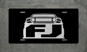 Toyota Fj Cruiser License Plate Auto Tag Tundra Tacoma 4runner Frs Camry Trd
