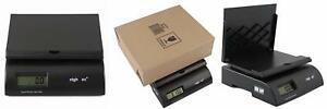 Weighmax Heavy Duty Compact Tabletop Electronic Postal Scale w 2822 75l blk