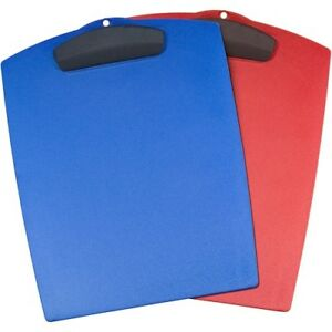 Storex Plastic Clipboard Storage For 25 X Sheet Plastic Assorted Bright