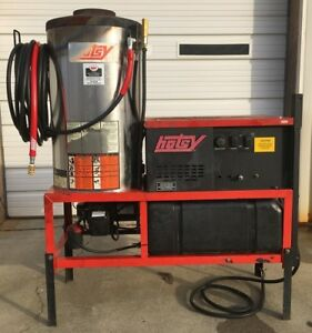 Used Hotsy 1423ss 460v Electric Diesel 4gpm 3000psi Hot Water Pressure Washer