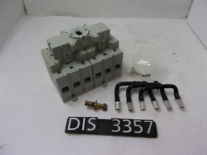 New Other Sprecher Schuh 600v 80a Non Fused Change Over Disconnect dis3357