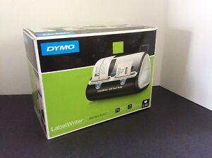 Dymo Label Writer 450 Twin Turbo Label Printer Black silver 1752266 New