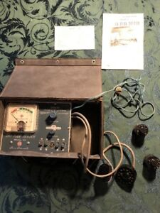 Superior Instruments Sico Model 83 Picture Tube Tester Manual Excellent Cond