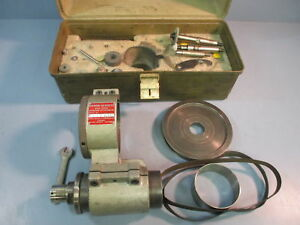 Used Boyar Schultz High Speed Grinding Attachment Kit Box