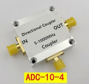 5 1000mhz 10db Directional Coupler Adc 10 4 Mini circuits Rf Cnc For Signal Amp