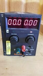 Sorensen xantrex Xts30 2 Adjustable Power Supply Good