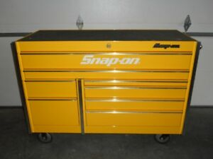 Snap On Krl722 Master Series Tool Box Roll Cab Ultra Yellow Snap On