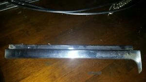 1959 Lincoln Continental Mark Iv 2 Door Driver Side Windshield Chrome Post Oem