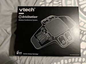 Vtech Erisstation Vcs704 Conference Phone With 4 Wireless Microphones