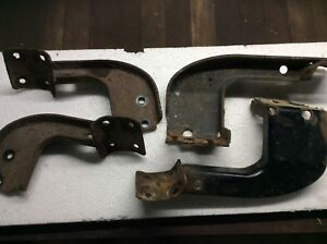 Ford Oem 2000 Ranger Running Board Step Brackets Front And Rear Both Sides