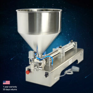 Automatic Pneumatic Paste Honey Sauce Cream Filling Machine Kit 100 1000ml Bsp