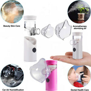 Portable Nebulizer Usb Rechargeable Ultrasonic Handheld Mist Inhaler Vaporizer